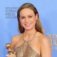 Brie Larson gana el Globo de Oro por 'La Habitación'