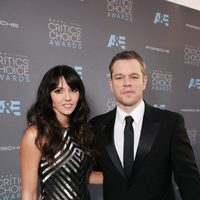 Matt Damon no se perdió la gala de los Critics Choice Awards 2016