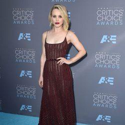 Rachel McAdams en la alfombra roja de los Critics Choice Awards 2016