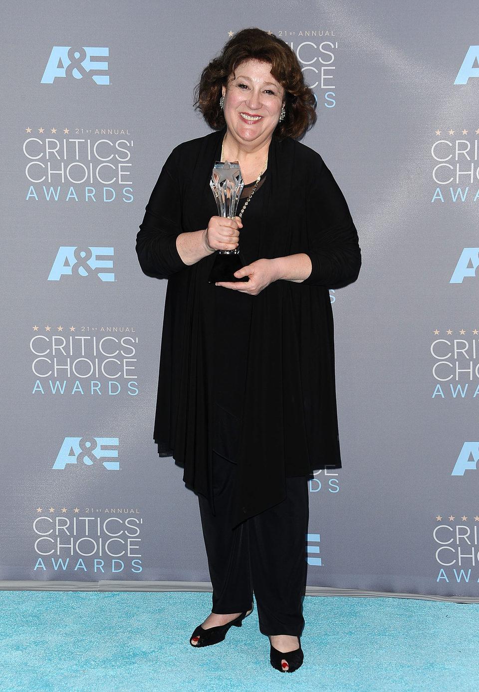 Margo Martindale se alzó con el Critics Choice Awards 2016 por 'The Good Wife'