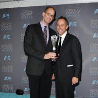 Pete Docter y Jonas Rivera ganaron el premio a mejor película animada en los Critics Choice Awards 2016