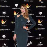 Elena Ballesteros en la Alfombra Roja de los Premios Feroz 2016