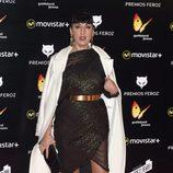 Rossy de Palma en la Alfombra Roja de los Premios Feroz 2016