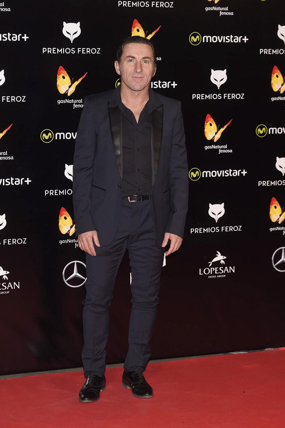 Antonio de la Torre en la alfombra roja de los premios Feroz 2016