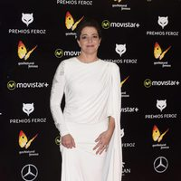 Nora Navas en la Alfombra Roja de los Premios Feroz 2016