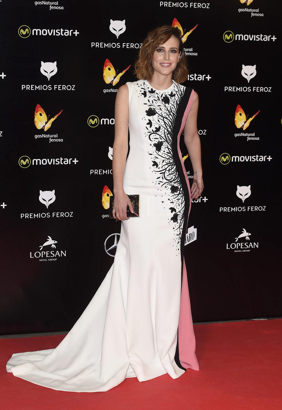 Natalia de Molina en la Alfombra Roja de los Premios Feroz 2016
