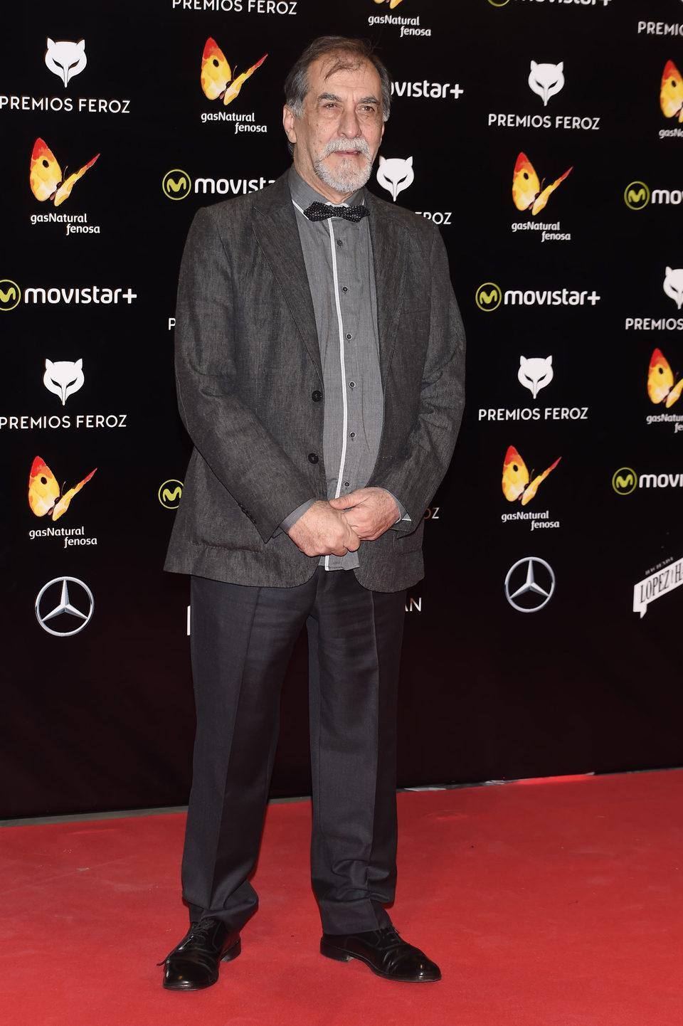 Ramón Barea en la alfombra roja de los Premios Feroz 2016