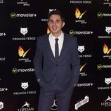 Berto Romero en la alfombra roja de los Premios Feroz 2016