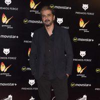 Fernando León de Aranoa en la alfombra roja de los Premios Feroz 2016