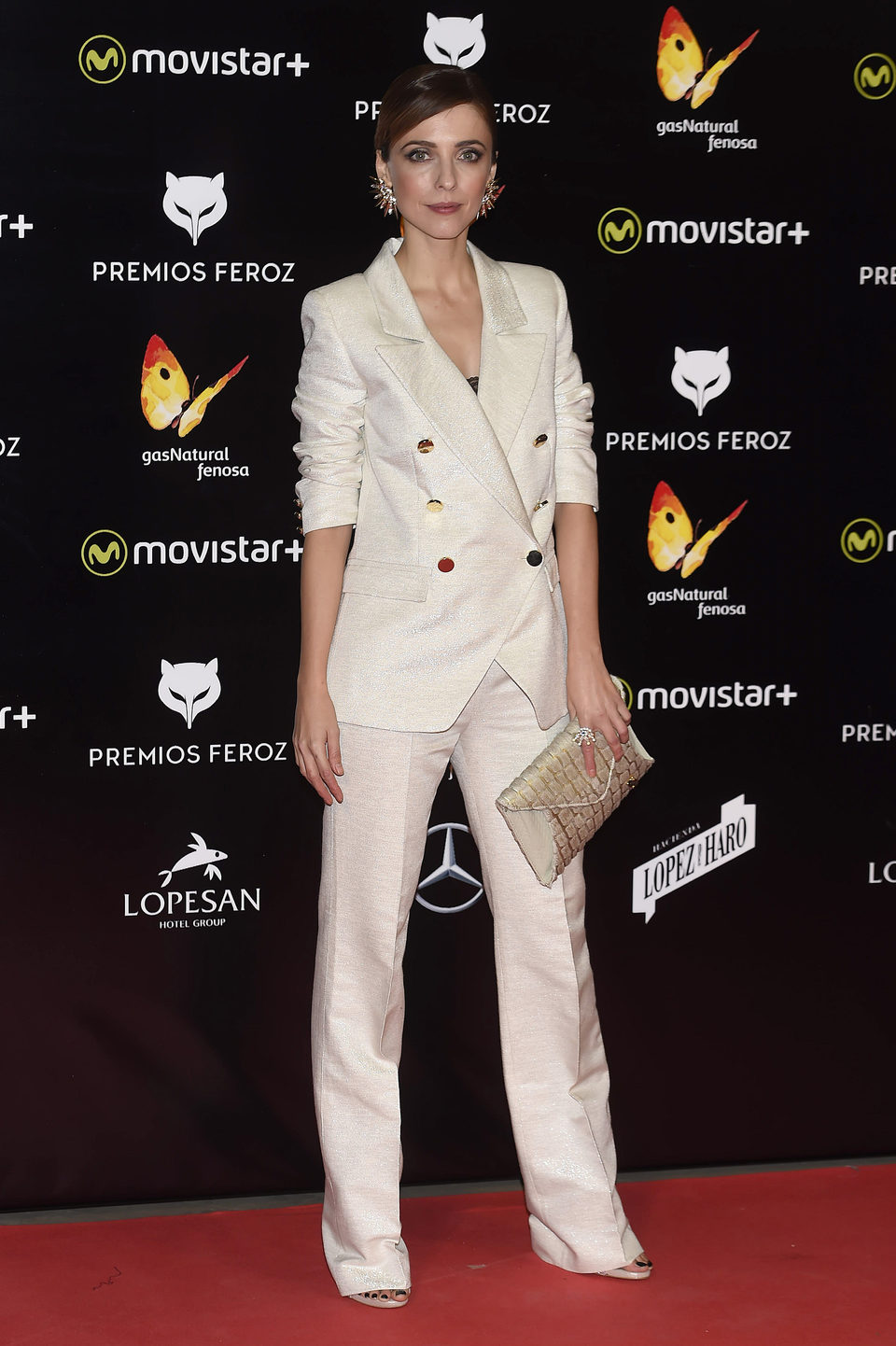 Leticia Dolera en la alfombra roja de los Premios Feroz 2016
