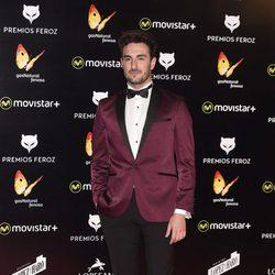Miki Esparbé en la alfombra roja de los premios Feroz 2016