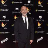 Javier Gutiérrez en la alfombra roja de los premios Feroz 2016