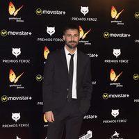 Hugo Silva en la alfombra roja de los Premios Feroz 2016