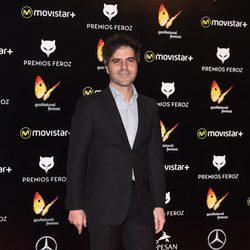 Ernesto Sevilla en la alfombra roja de los Premios Feroz 2016
