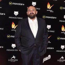 Pepón Nieto en la alfombra roja de los Premios Feroz 2016