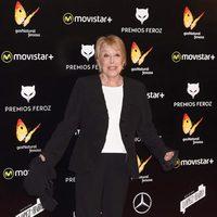 Rosa María Sardá en la alfombra roja de los Premios Feroz 2016