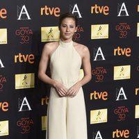 Irene Escolar en la cena de los nominados a los Goya 2016