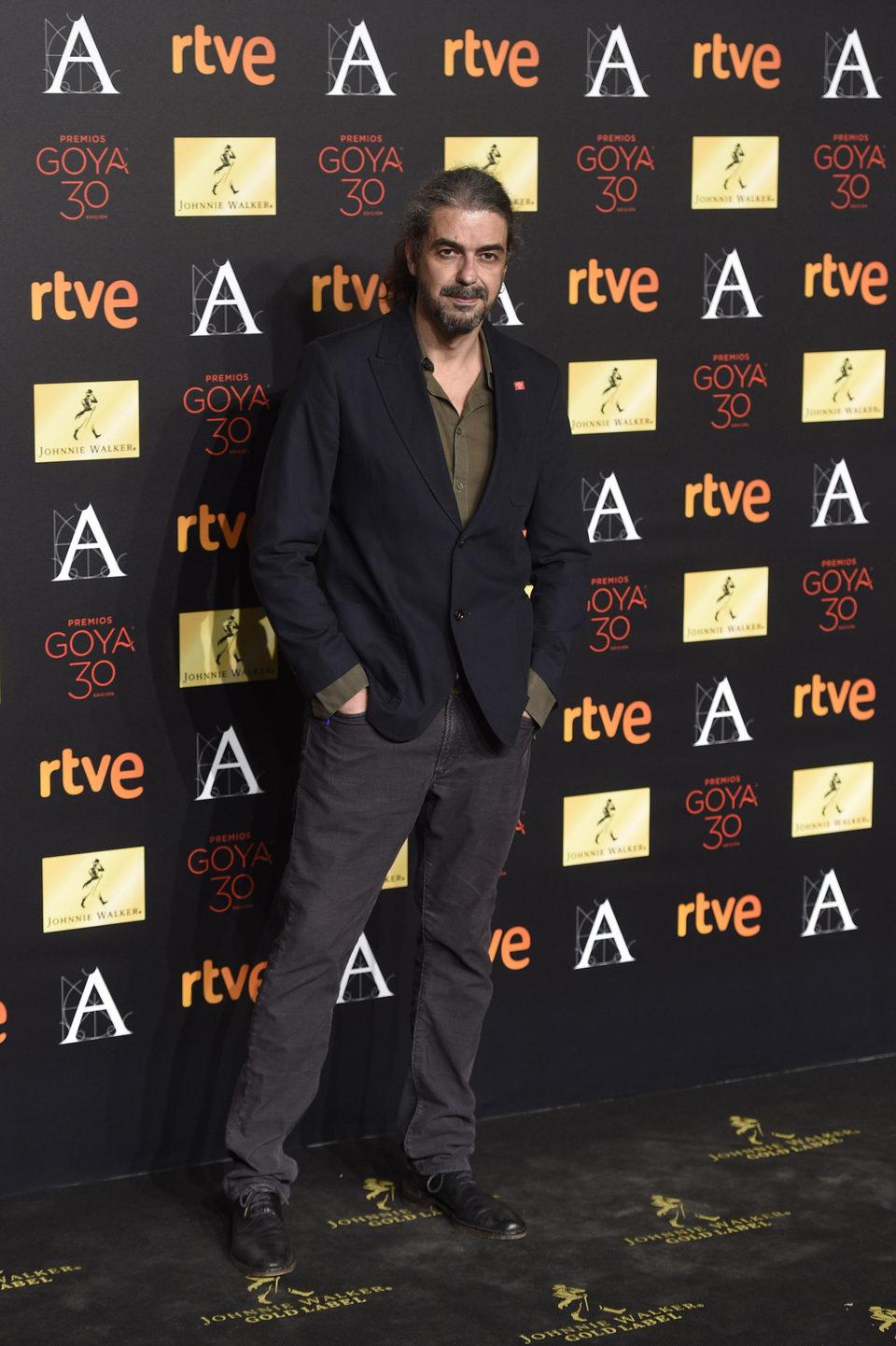 Fernando León de Aranoa en la cena de los nominados a los Goya 2016