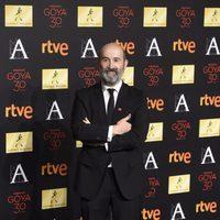 Javier Cámara en la cena de los nominados a los Goya 2016
