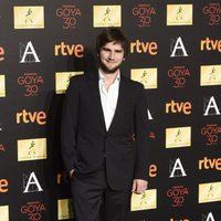 Lucas Vidal en la cena de los nominados a los Goya 2016
