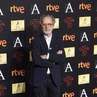 Fernando Colomo en la cena de los nominados a los Goya 2016