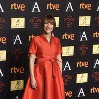 Paula Ortiz en la cena de los nominados a los Goya 2016