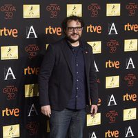 Dani de la Torre en la cena de los nominados a los Goya 2016