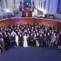 Todos los actores y profesionales del cine que asistieron a la cena de los nominados a los Goya 2016