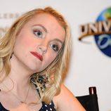 Evanna Lynch durante el 3er encuentro anual de 'Harry Potter'