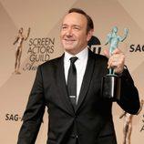 Kevin Spacey, mejor actor de una serie dramática en los SAG Awards 2016