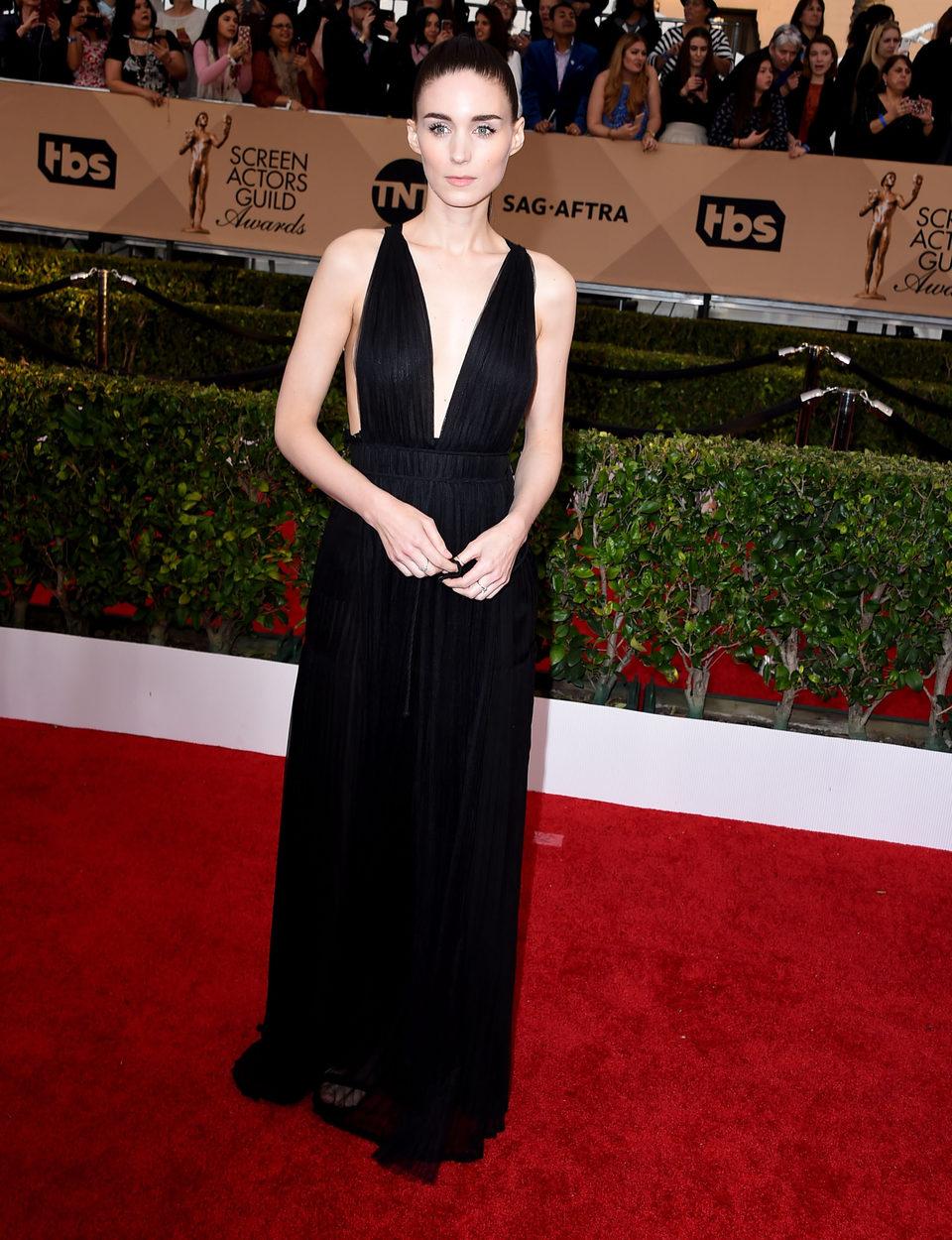 Rooney Mara en la alfombra roja de los SAG Awards 2016