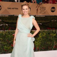 January Jones in red carpet of SAG Awards 2016