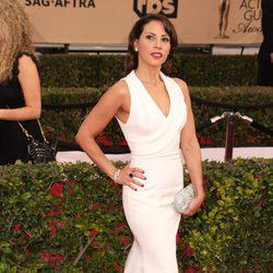 Elizabeth Rodríguez en la alfombra roja de los SAG Awards 2016