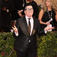 Lea DeLaria in red carpet of SAG Awards 2016