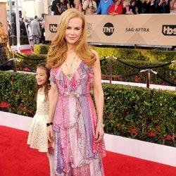 Nicole Kidman en la alfombra roja de los SAG Awards 2016