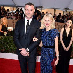 Liev Schreiber y Naomi Watts en la alfombra roja de los SAG Awards 2016