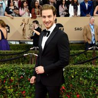 Eugenio Siller in red carpet of SAG Awards 2016
