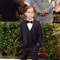 Jacob Tremblay in red carpet of SAG Awards 2016