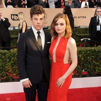 Nolan Gould and Joey King at the SAG Awards 2016 red carpet