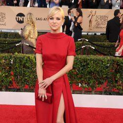 Anna Faris en la alfombra roja de los SAG Awards 2016