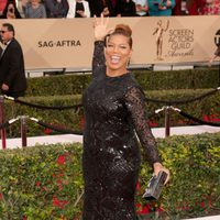 Queen Latifah en la alfombra roja de los SAG Awards 2016
