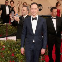 Jim Parsons in red carpet of SAG Awards 2016