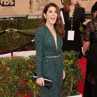 Marisa Tomei in red carpet of SAG Awards 2016