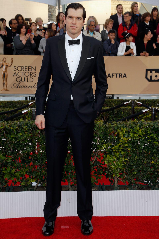Timothy Simons en la alfombra roja de los SAG Awards 2016