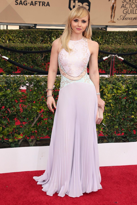 Christina Ricci en la alfombra roja de los SAG Awards 2016