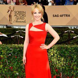 Melissa Rauch en la alfombra roja de los SAG Awards 2016
