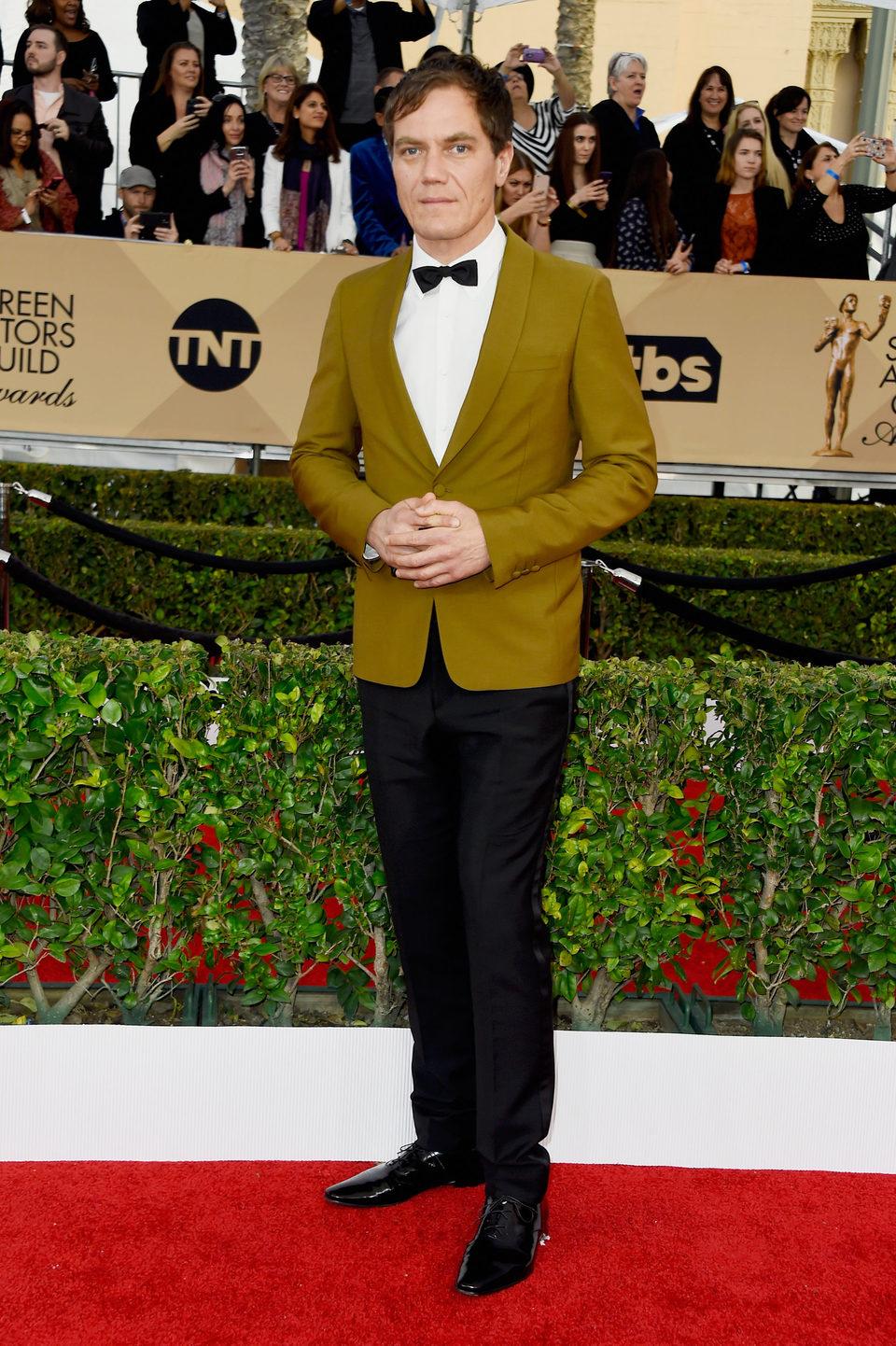 Michael Shannon en la alfombra roja de los SAG Awards 2016