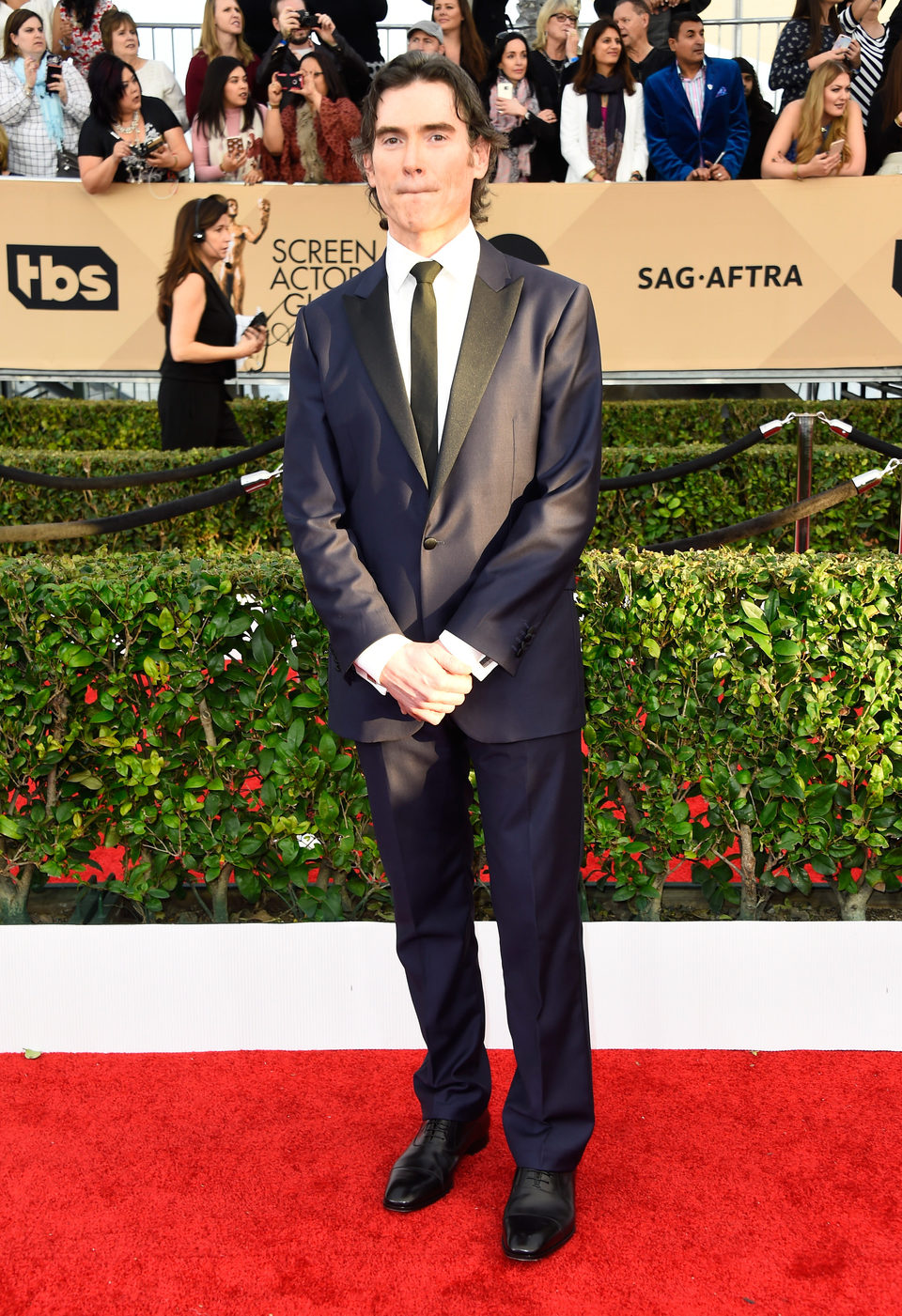 Billy Crudup en la alfombra roja de los SAG Awards 2016