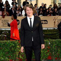 Tom Hooper en la alfombra roja de los SAG Awards 2016