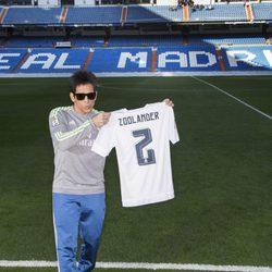 Derek Zoolander en el Santiago Bernabéu